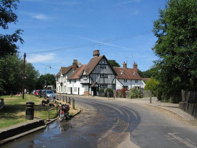Near the ford at Eynsford