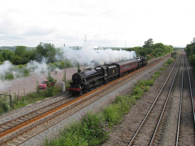 Black 5s at Marshfield