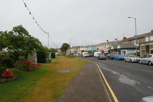 Houses near Hayle harbour