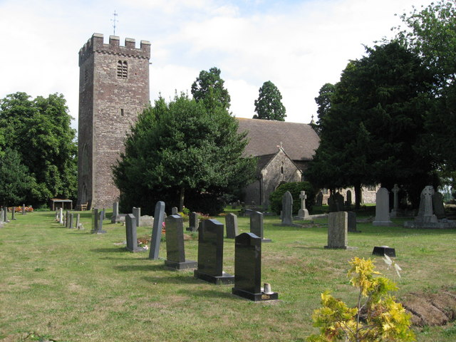 St. Mary's church, Marshfield