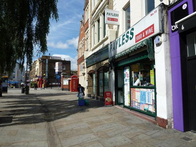 Shops in Baylis Road
