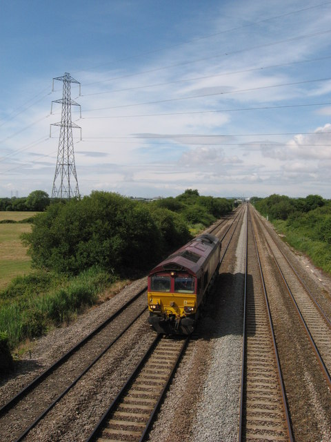 South Wales Main Line near Marshfield