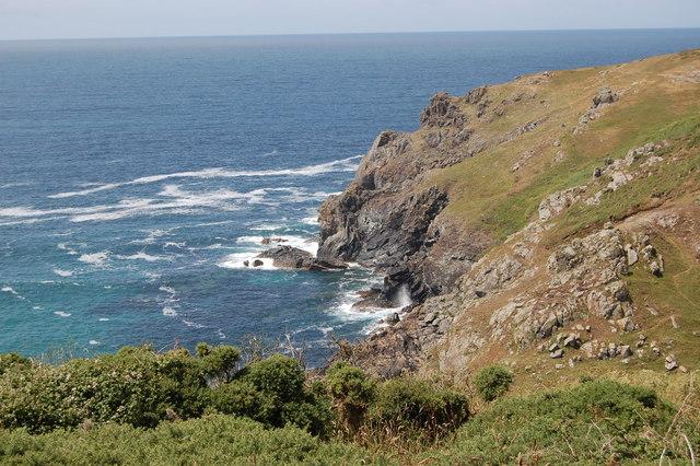 Cliffs at Ogo Dour Cove