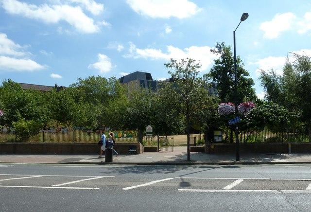 Waterloo Millennium Park in Baylis Road