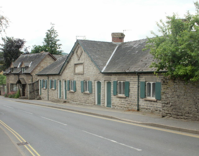 Harley's Almshouses, Hay-on-Wye