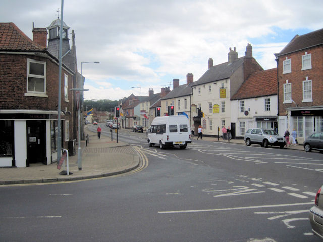 Main street at Tickhill