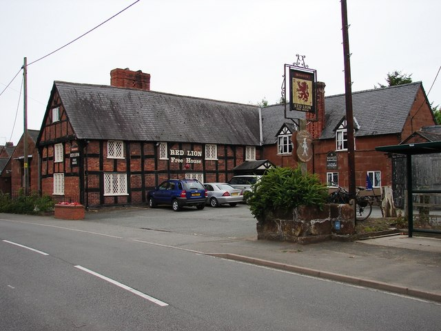 Red Lion, Myddle