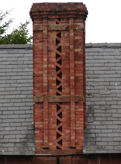 Interesting chimney on the Red Lion