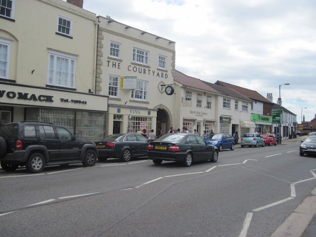 Bawtry shops in South Parade