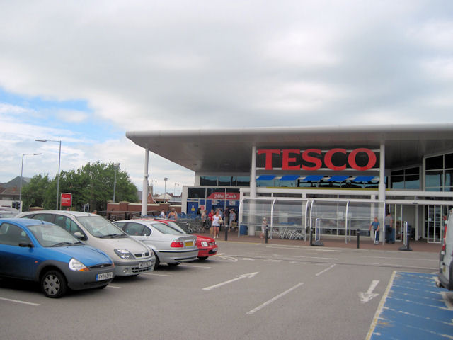 Tesco stores Gainsborough