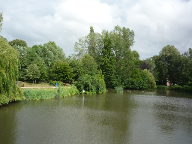 Lake from Central Hall bridge