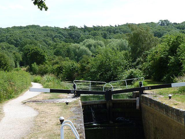 Top gates of Willis lock