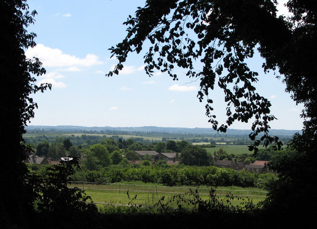 View from Sproxton churchyard - 1