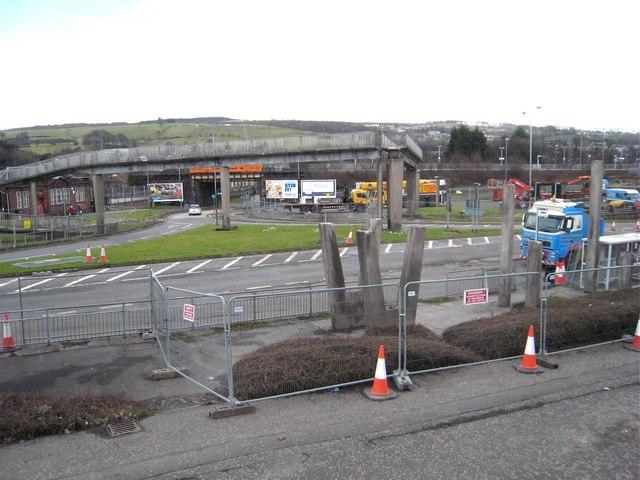 Bank Street Footbridge removal