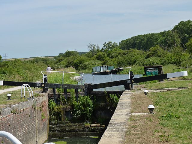 Top gates of Woolsthorpe Top lock