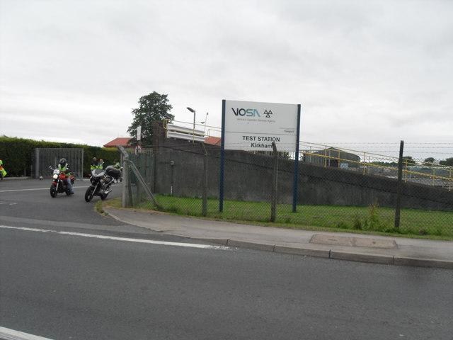 VOSA Test Station - Kirkham