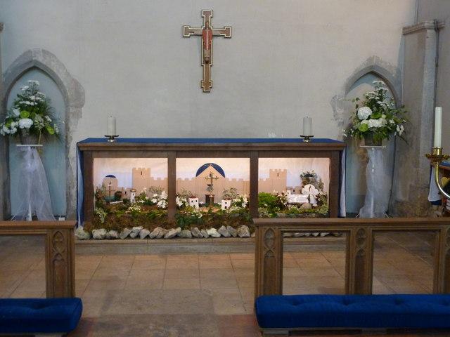 The sanctuary, the church of St. Mary Magdalene, Davington
