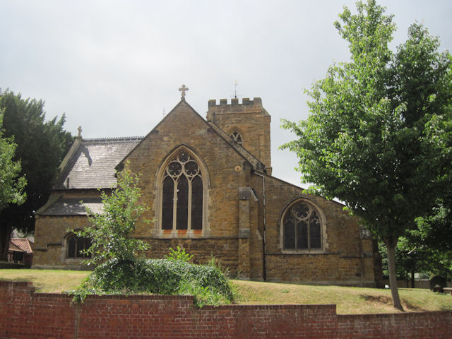 St Thomas's Church from the Mill