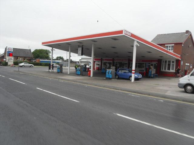 Warton Petrol Station