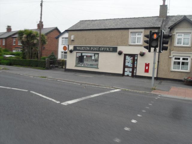 Warton Post Office