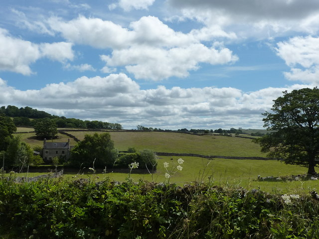 Countryside near Buxton Road, Wetton