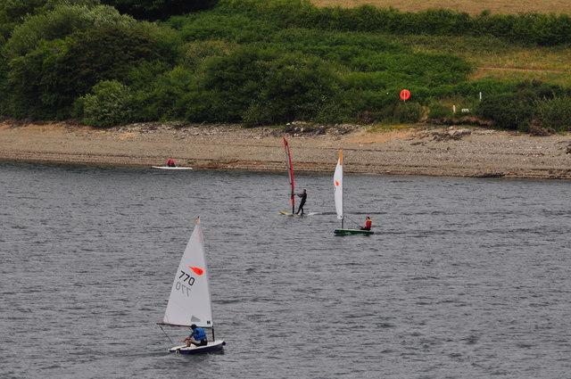 Exmoor : Wimbleball Lake - Watersports