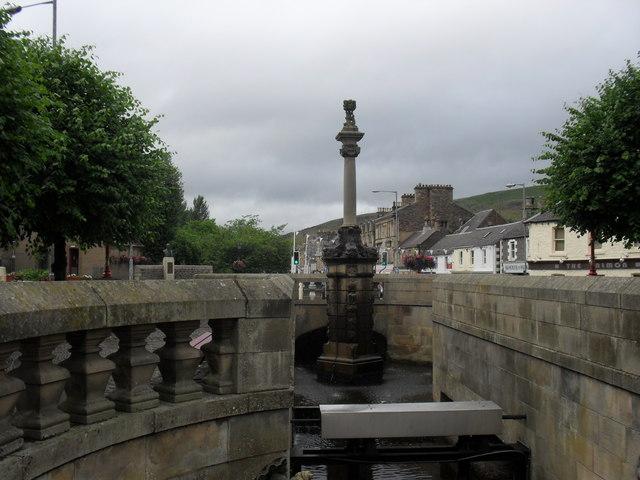 Galashiels - the fountain