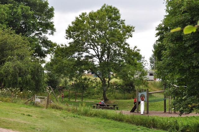 Exmoor : Wimbleball Lake - Playground