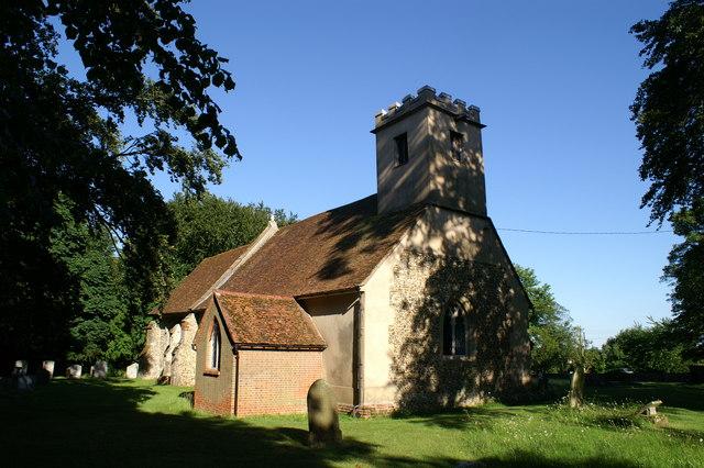 Belchamp Otten Church, Essex