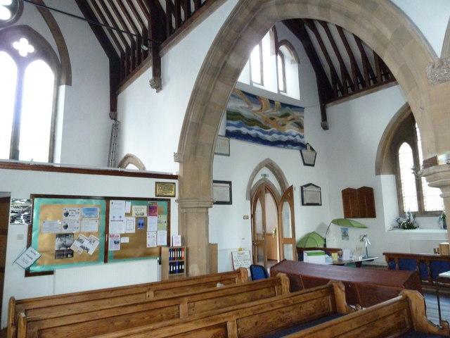 Inside St John's, Hythe (3)