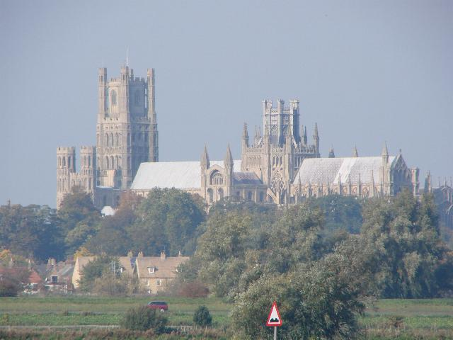 Ely Cathedral from the A142