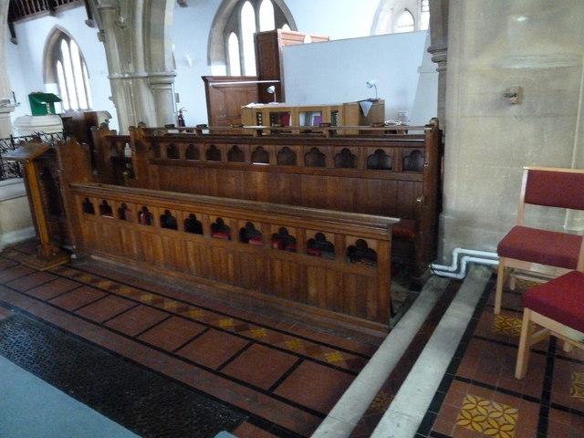 Inside St John's, Hythe (8)