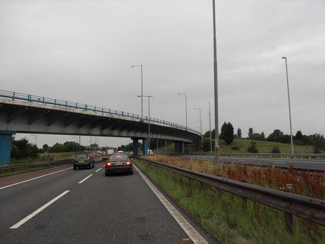 Bridge Carrying M55 Slip Road