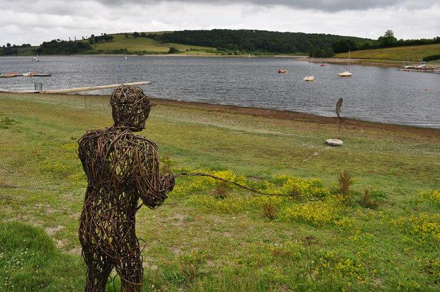 Exmoor : Wimbleball Lake & Wicker Fisherman