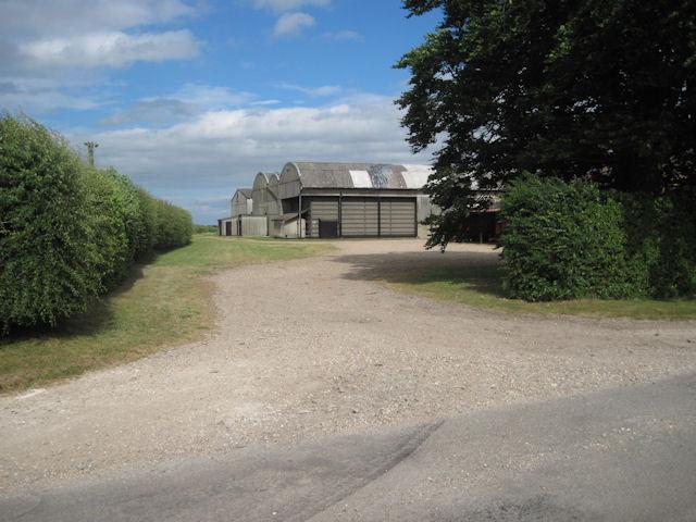 Entrance to Cold Harbour Farm