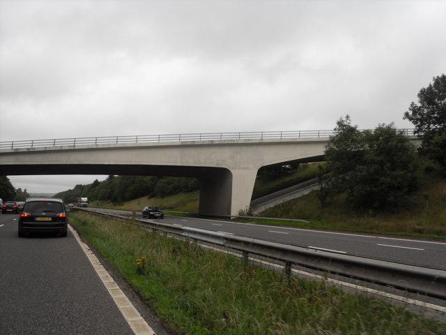 Bridge over M6 at Scorton