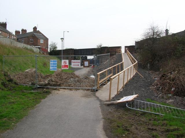 Works on Hallfield Road