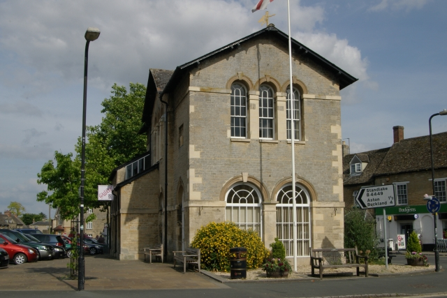Bampton old fire station