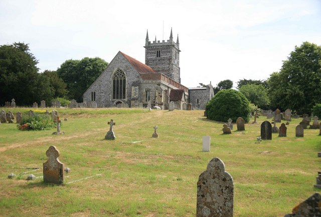 Downton church and grave yard