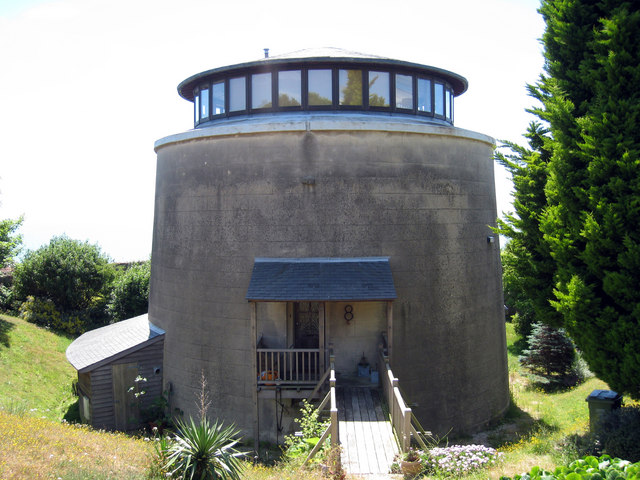 Martello Tower Number 8 Folkestone 169 Oast House Archive