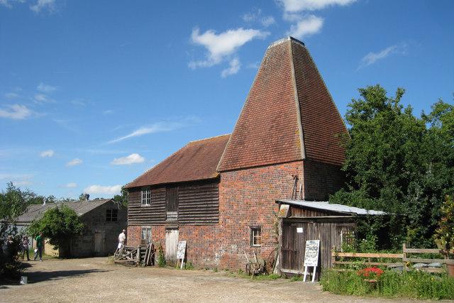 Oast House at Buss Farm, Pluckley Road, Bethersden, Kent