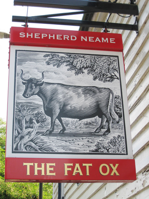 The Fat Ox sign