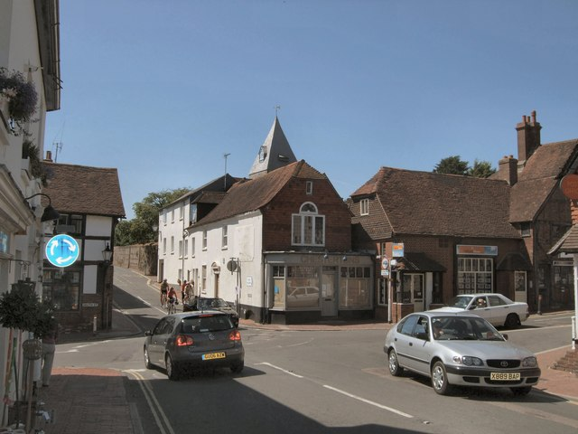 Crossroads in Ditchling