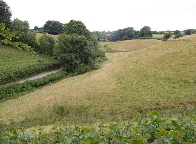Valley below Chipstable
