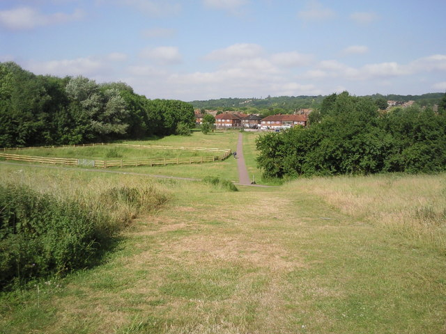 East Wickham Open Space looking towards Shooters Hill