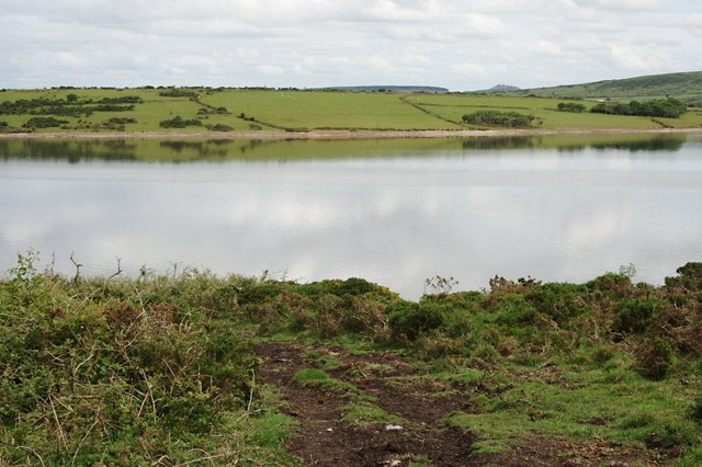 Across One Arm of Colliford Lake