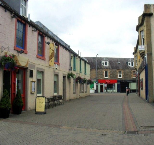 Green Street, Galashiels