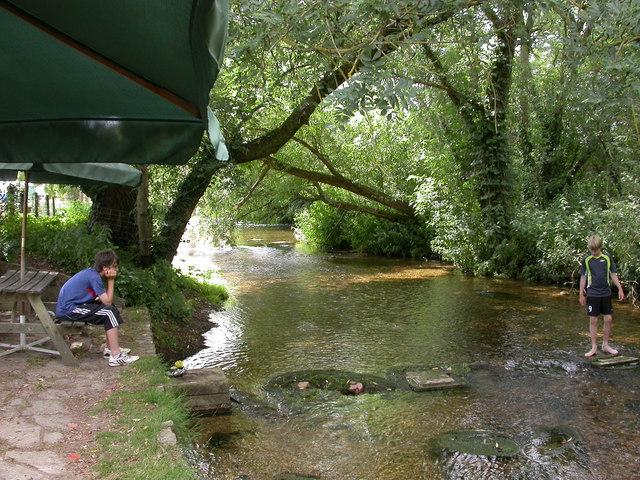 Corfe Mullen, millstream