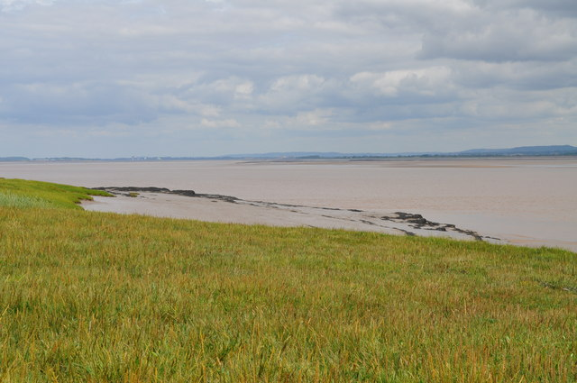 Severn Estuary near Pighole Pill