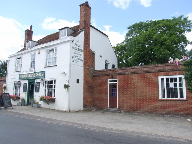 The Four Horseshoes, Graveney